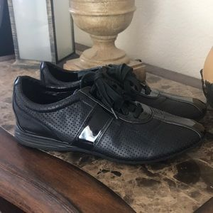 Cole Haan Leather Tennis Shoes